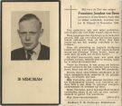 Beers Franciscus Josephus van 1948.