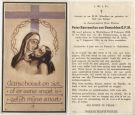 Genuchten Benvenutus van Pater O F M 1956.