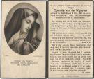Wijdeven Cornelia van de 1951