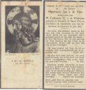 Ven Henricus Jos v d x Wijdeven v d  1951