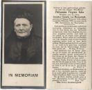 Ader Philomena Virginie x Meerendonk van 1929