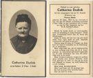 Dudink Catharina x Hoek 1940
