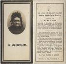 Kockx Maria Francisca x Vries de 1921