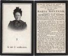 Montens Maria x Nuenen Gijsbertus van1915