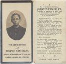 Delft Joannes van 1921
