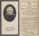 Baakman Wilhelmina Maria x Meijer 1927