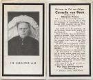 Beek Cornelia van x Vriens 1938