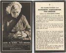 Breugel Catharina Margaretha van x Kokke 1937
