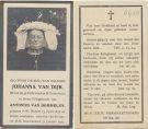 Dijk Johanna v x v Dommelen 1924