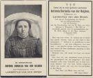 Heijden Antonia Cornelia vd x vd Broek 1925