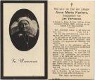Kanters Anna Maria x Verhoeven 1943