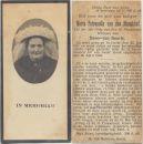 Munckhof Maria Petronella van den x Geurts 1924