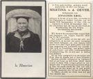 Oever Martina v d x Krol 1946