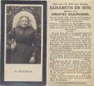 Roij Elisabeth de x Raaijmakers 1925