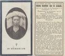 Schans Maria Martina van de  1925