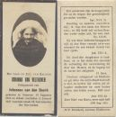 Velthoven Johanna v x vd Bosch 1927