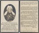 Versmissen Maria Theresia x Dufraing 1919
