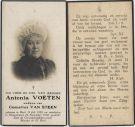 Voeten Antonia x Steen van 1932