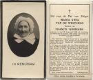 Westerlo Maria Anna van de x Verberne 1931