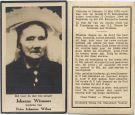 Wismans Johanna x Wilms 1944