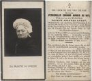 Wit Petronella Joanna Maria de x Korst 1929