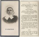 Wouw Maria Magdalena van de x Schijvens 1934
