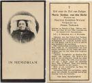 Berkt Maria Justina van den x Nooyen x Tiebosch 1934