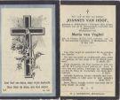 Hoof Joannes v x v Veghel 1917