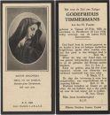 Timmermans Godefridus 1930