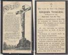 Vermeulen Aldegonda x vd Pas 1922